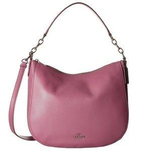 Coach NWT Pink/Purple Hobo/Crossbody Bag